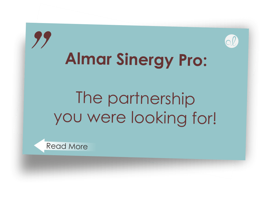 Almar Sinergy Pro The partnership you were looking for